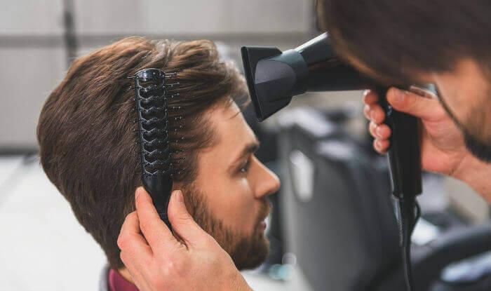 آرایشگر حرفه ای مردانه