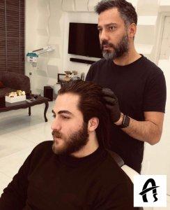 آموزش آرایشگری مردانه در سالن آس