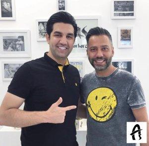 آموزش آرایشگری حرفه ای در سالن آس تحت نظر محمد کاشانی