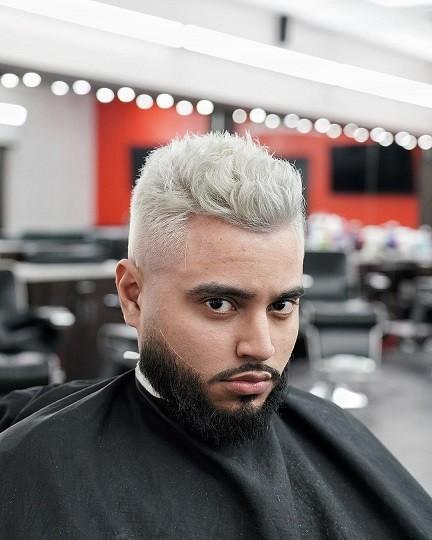 فید موی بلوند مردانه 2021