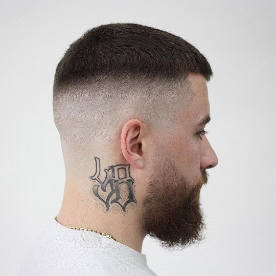 مدل موی محو همگام با پوست سر