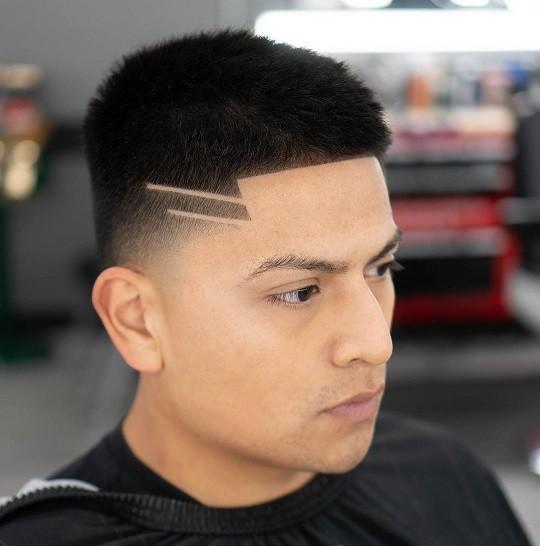 مدل مو مردانه طرح دار 2021