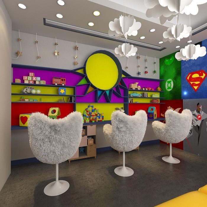 آرایشگاه کودک سالن پیرایش آس