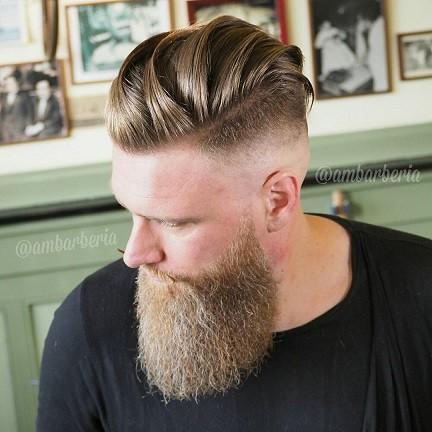 آندرکات + فید مو با ریش