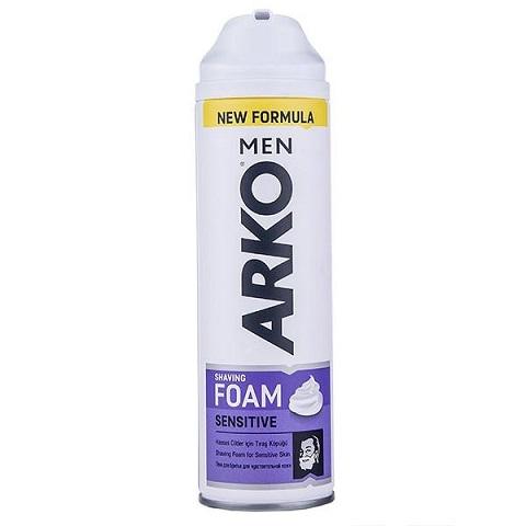 فوم اصلاح آرکو مدل Sensitive حجم 200 میلی لیتر