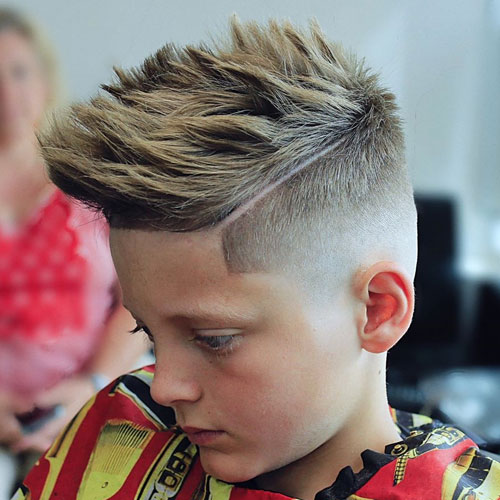 مدل فید پسرانه برای موهای بلند