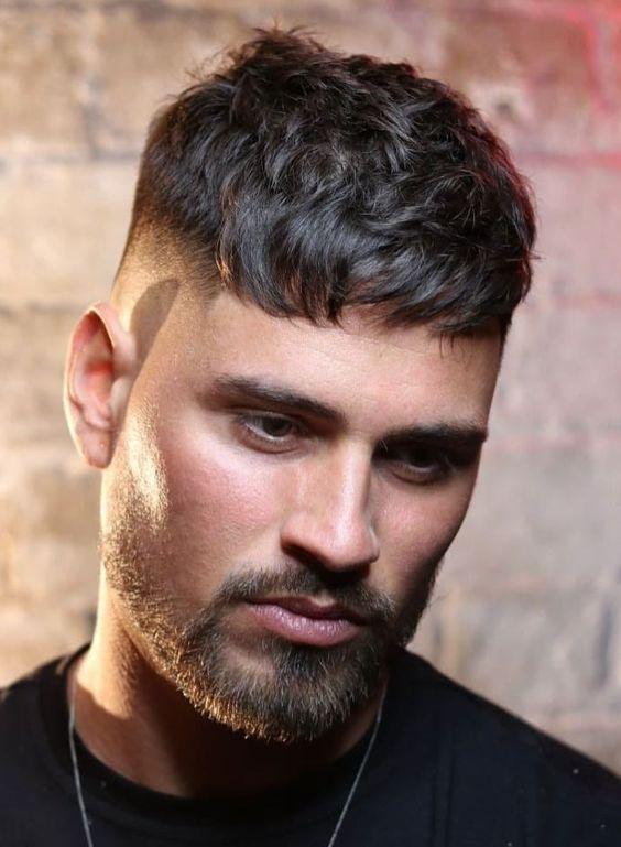 مدل مو مردانه کراپ تاپ