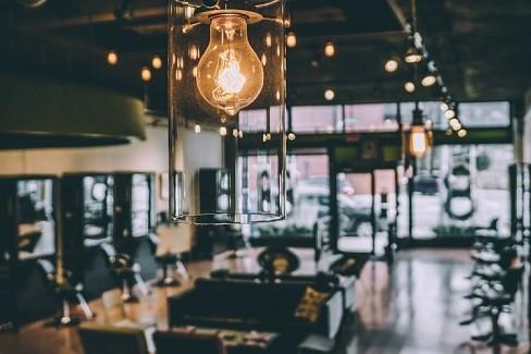 نورپردازی آرایشگاه مردانه 2020