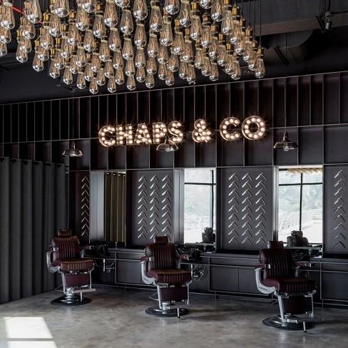 نورپردازی سالن آرایشگاه مردانه 2020