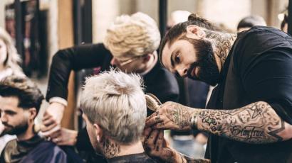 آموزش سریع آرایشگری مردانه در خانه به همراه جزوه