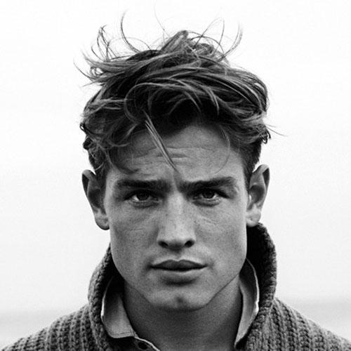 مدل مو شلخته مردانه متوسط 2021