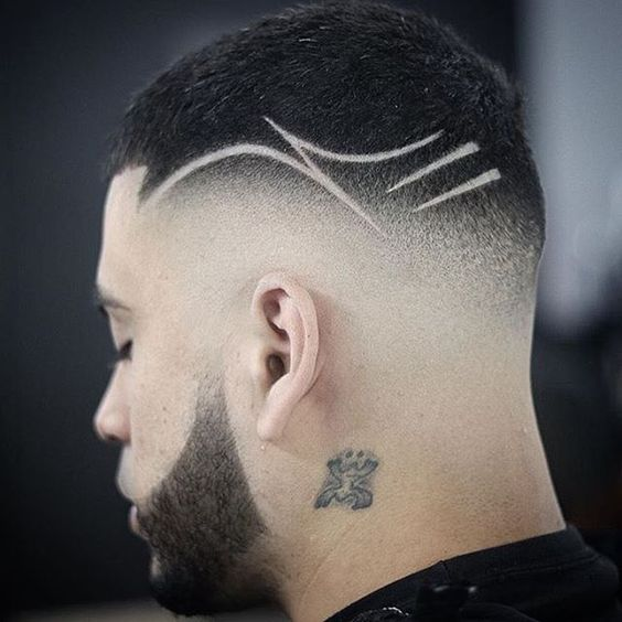 مدل مو خط دار مردانه 2021