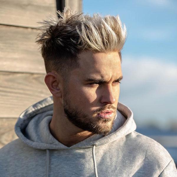 مدل مو بور مردانه متوسط