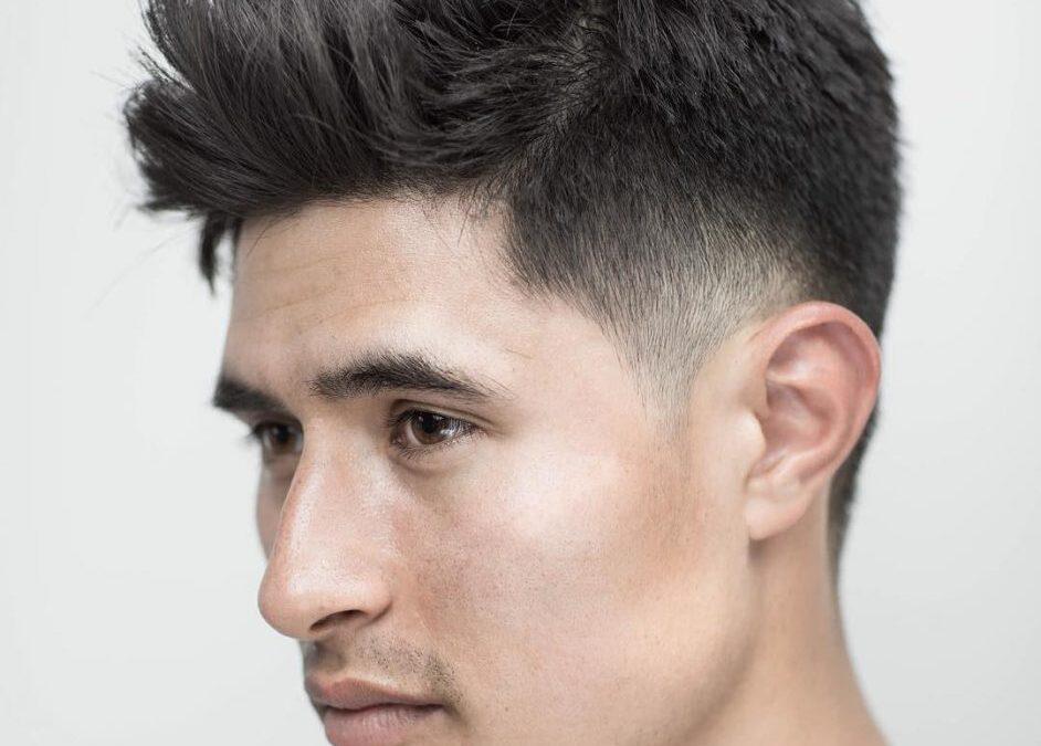 مدل مو فید بافت دار یا Textured Fade