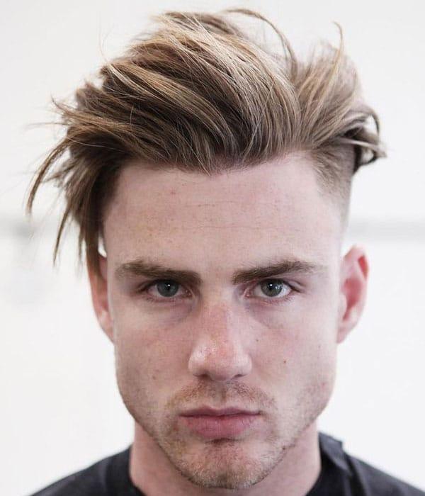 موهای بور متوسط مردانه