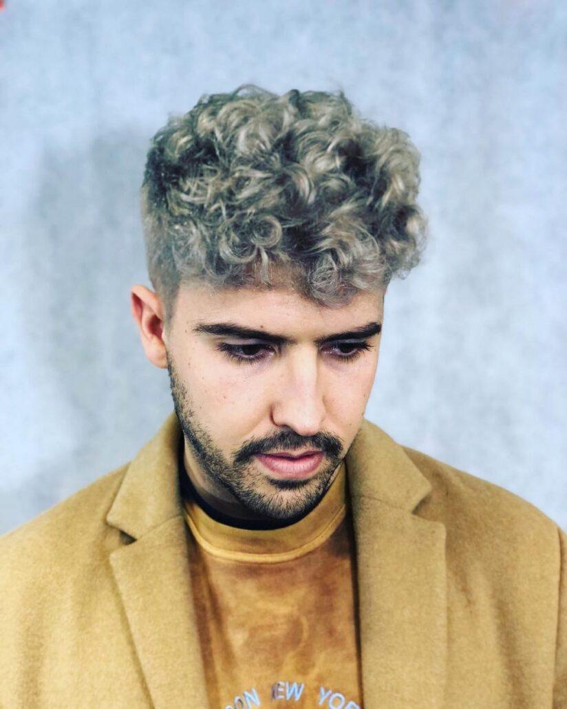 رنگ مو اسموکی مردانه 2021