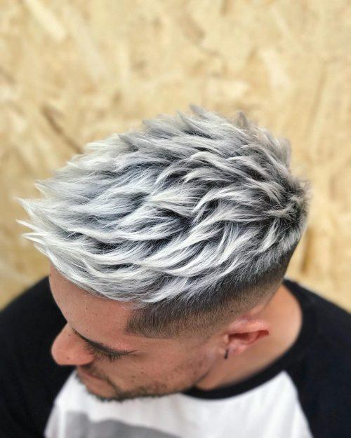 رنگ مو پلاتینه مردانه 2021