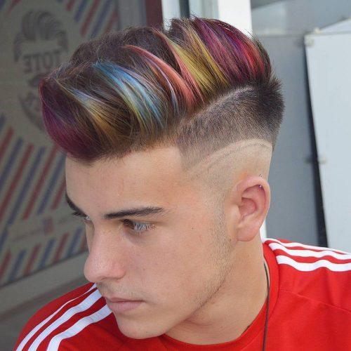 رنگ مو چند رنگ